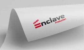 Enclave-production-logo-designing-by-orion-designs